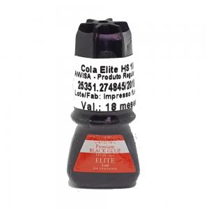 Cola para Alongamento Black Glue HS-10 3ml - Elite Glue
