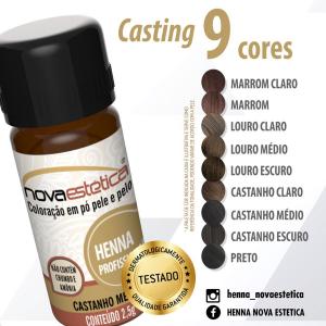 Henna para Sobrancelhas - Nova Estética