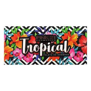 Paleta de Sombras Tropical - Pink 21