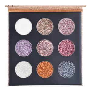 Paleta Shine Glitter Cremoso HB8407/G - Ruby Rose